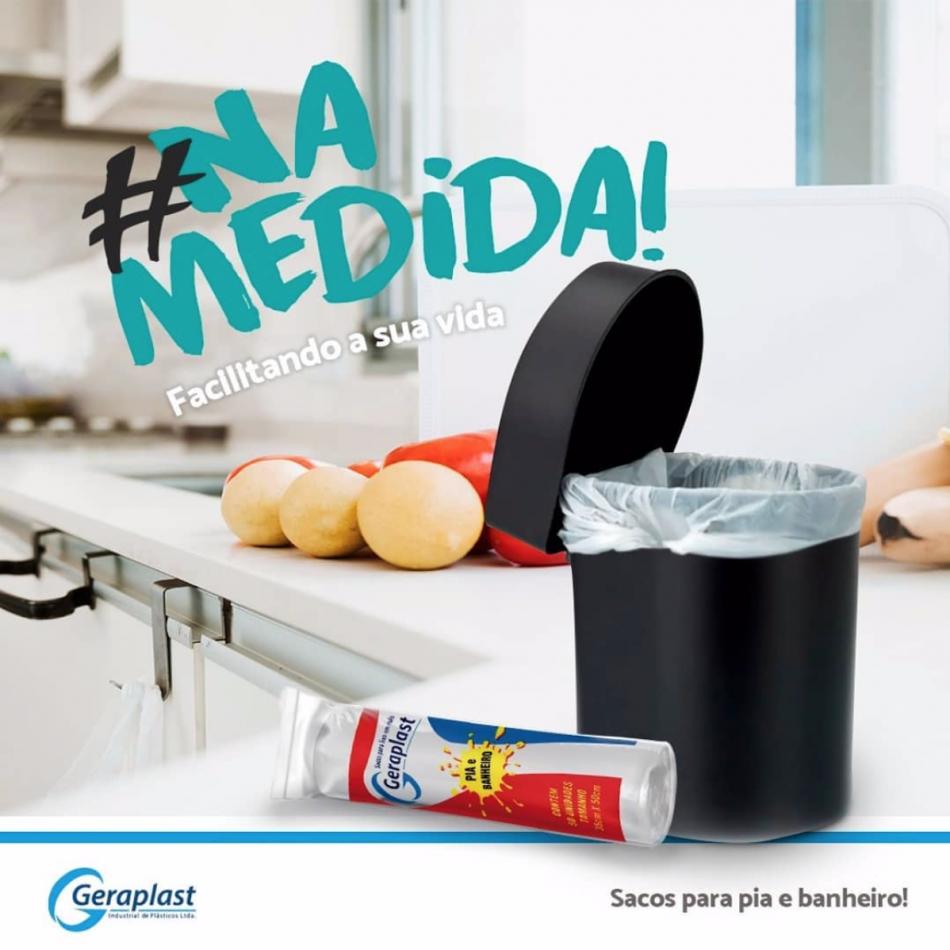 Sacos para Pia e Banheiro  - Geraplast - Industrial de Plásticos
