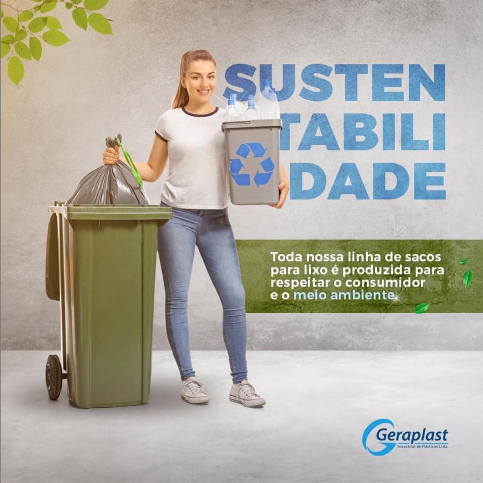 SUSTENTABILIDADE - Geraplast - Industrial de Plásticos