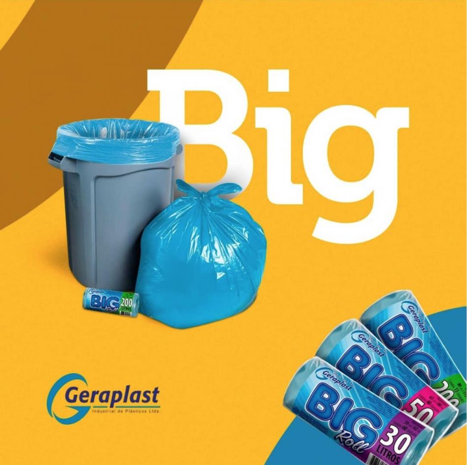 Linha Big Roll  - Geraplast - Industrial de Plásticos
