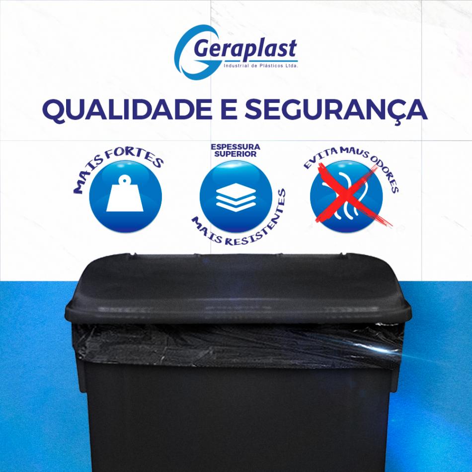 Qualidade e Segurança - Geraplast - Industrial de Plásticos