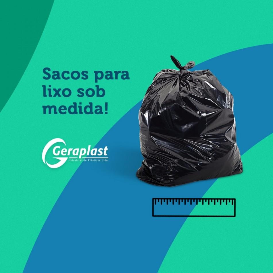 Sacos para Lixo sob medida! - Geraplast - Industrial de Plásticos