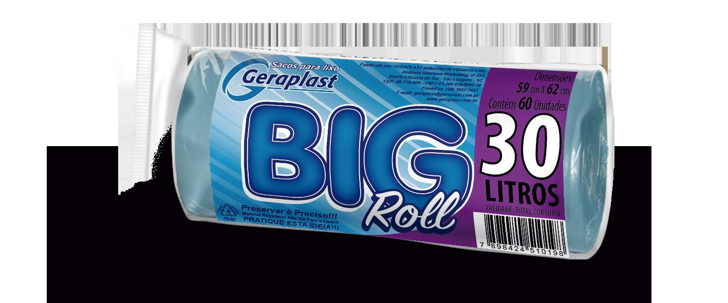 <BIG ROLL 30 Litros - Geraplast - Industrial de Plásticos